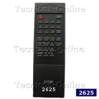 2625 Control Remoto TV RM20 ACOUSTECH PHILCO CROWN MUSTANG